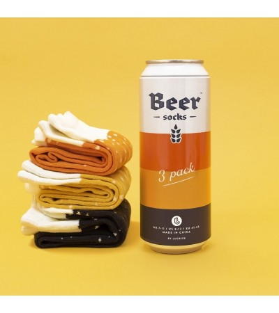 Calcetines de cerveza  Luckies of London, 3 pares