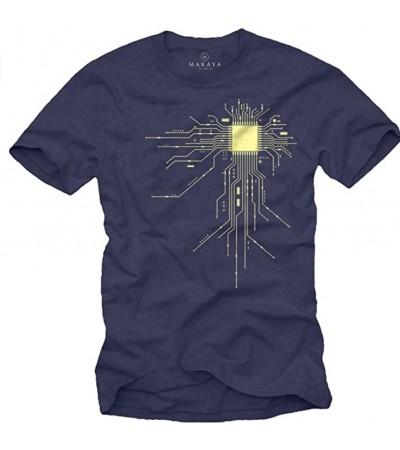 Camiseta de algodón MAKAYA