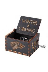 Caja de música de madera Juego de Tronos