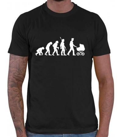 Camiseta para hombres Evolución
