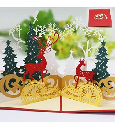 Tarjeta de Navidad 3D